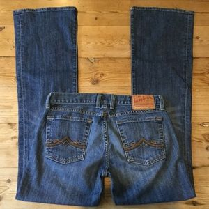 Lucky Brand Distressed Maggie Bootcut Jeans